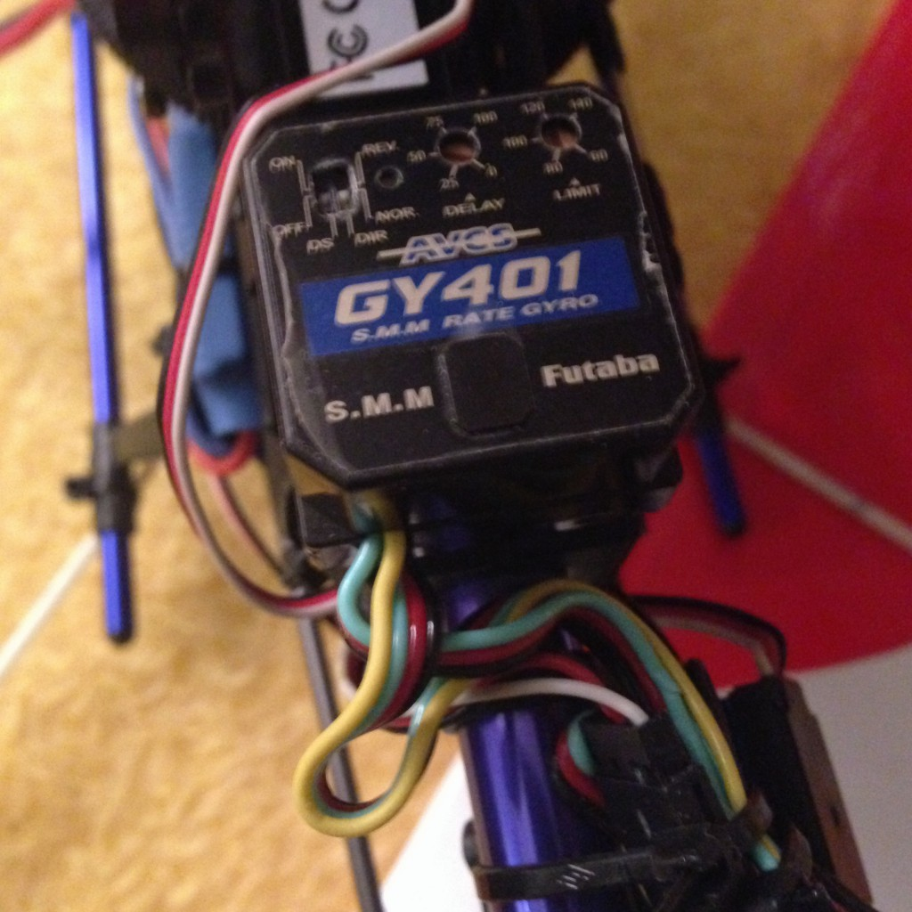 ORI Gyro 401 Mein Heli 2